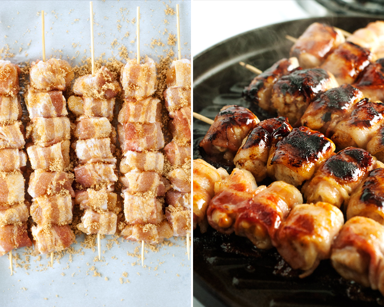 Sweet-Spicy-Bacon-Wrapped-Chicken-Skewers-5
